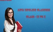 Anuj english classes