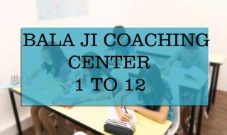 bala ji coaching center