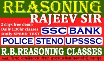 R.B Reasoning classes